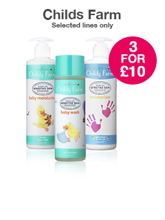 3 for £10 Childs Farm