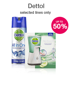 Save up to 50% on selected Dettol