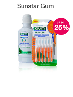 Sunstar Gum Save 25%
