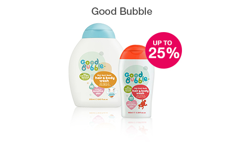 25% off Good Bubble