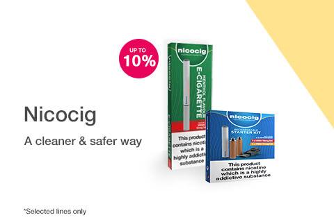 10% off selected NicoCig