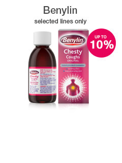 10% off selected Benylin