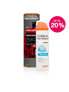 Save 20% on selected L'Oreal Men Expert