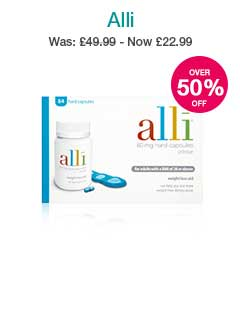 Up to 50% off Alli