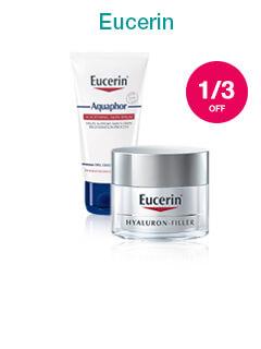 1/3 off Eucerin