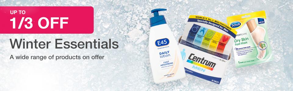 Up to 1/3 off Winter Essentials
