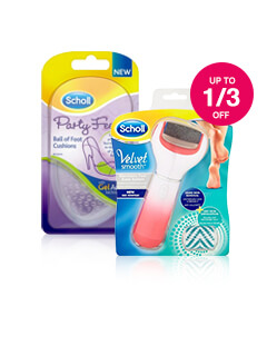 Up to 1/3 Off Scholl