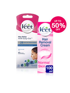 Up to 50% off Veet