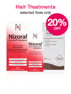 Save 20% on selected Hair Treatments