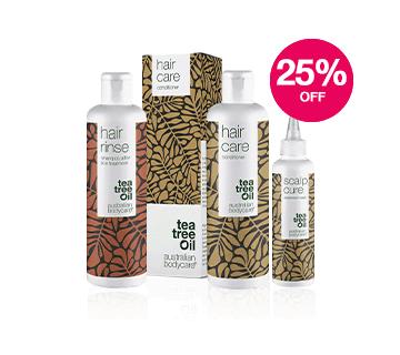 Save 25% on Australian Bodycare Haircare