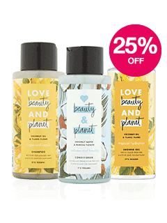 Save 25% on Love Beauty Planet