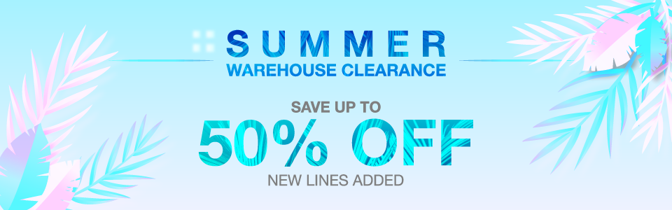 Summer Warehouse Clearance