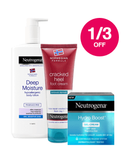 Save 1/3 on Neutrogena
