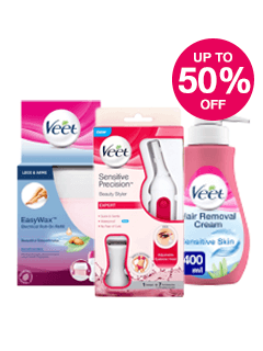 Save up to 50% on Veet