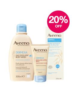 Save 20% on Aveeno Dermexa