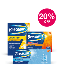 Save 20% on Beechams