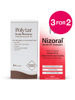 3 for 2 on Polytar and Nizoral
