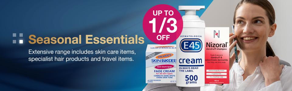 Save 1/3 on Seasonal Essentials