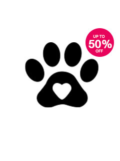 Save up to 50% on Pet Care