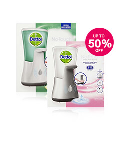 Up to 50% off Dettol