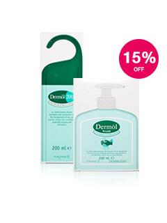 15% off Dermol