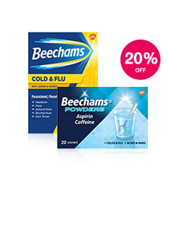20% off Beechams