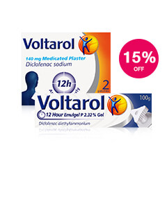 15% off Voltarol