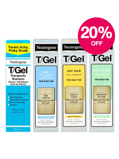 Save 20% on Neutrogena T/Gel