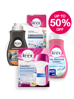 Save up to Half Price on Veet