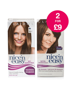 2 for £9 on Clairol Nice 'n Easy Semi-Permanent