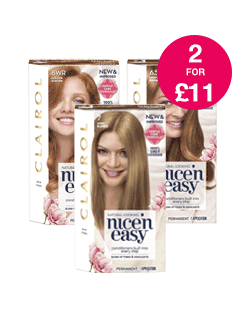 2 for £11 on Clairol Nice 'n Easy Permanent
