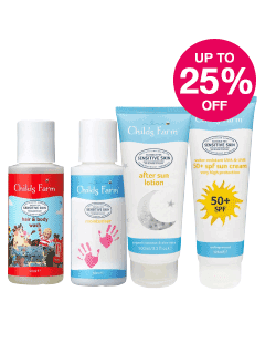 Save up to 25% on Selected Childsfarm