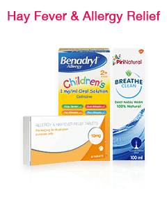 Hay Fever & Allergy Relief