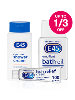 Save up to 1/3 on E45