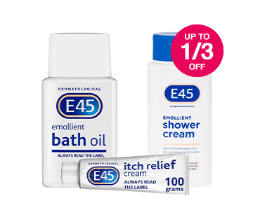 Save up to 1/3 on selected E45