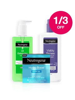 Save 1/3 on Neutrogena Skincare