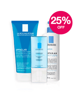 Save 25% on La Roche Posay