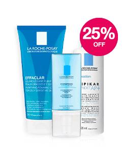 Save 25% on La Roche Posay