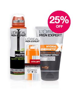 Save 25% on L'Oréal Men Expert
