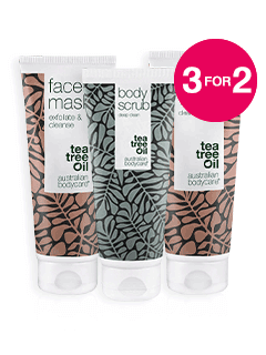 3 for 2 on Australian Bodycare Skincare