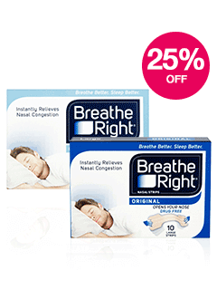 Save 25% on Breathe Right