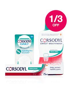 Save 1/3 on Corsodyl