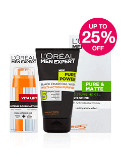 Save up to 25% on L'Oreal Men Expert