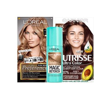 L'Oreal & Garnier Hair Colour