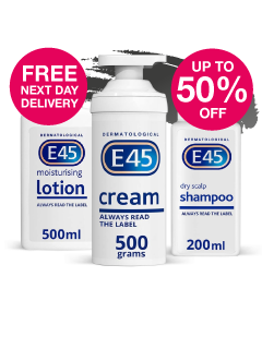 Save up to 50% on E45