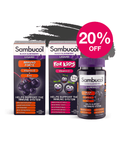 Save 20% on Sambucol