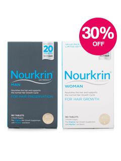 Save 30% on Nourkrin