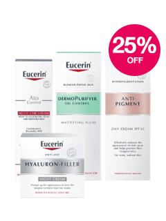 Save 25% on Eucerin