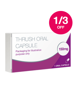 Save 1/3 on Thrush Treatments