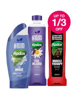Save up to 1/3 on Radox
